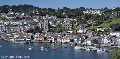 Fowey From River (Permission Paul Jenkins)