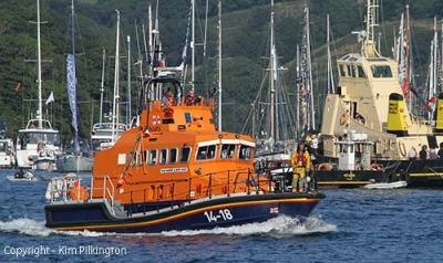 Fowey Lifeboat (Permission Kim Pilkington)
