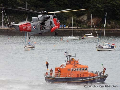 Photo Gallery Image - Lifeboat Practice (Permission Kim Pilkington)