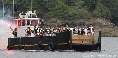 Fowey Town Band (Permission Kim Pilkington)