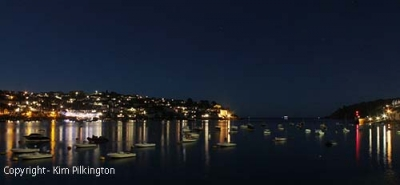 Fowey at Night (Permission Kim Pilkington)