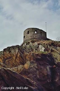 Photo Gallery Image - St. Catherine's Castle (Permission Neil Luke)