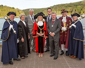 Fowey Town Council Mayor Choosing Ceremony