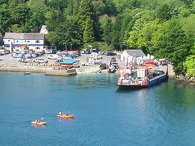 Photo Gallery Image - Bodinnick Ferry at Caffa Mill