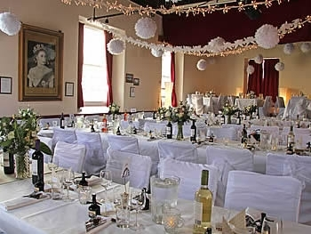 Wedding Reception at Fowey Town Hall