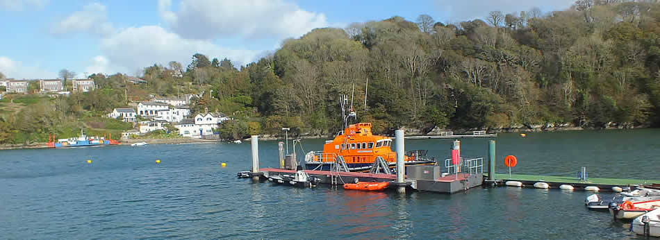 The lifeboat at Fowey