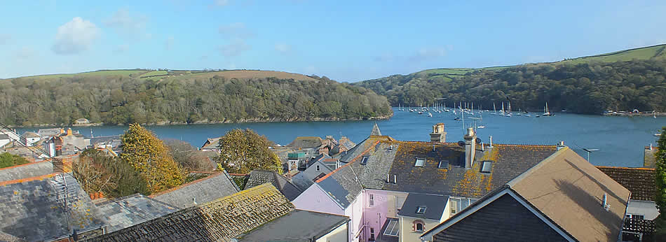 Views from Fowey across the river
